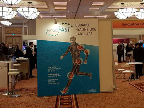 14-ти световен конгрес на ICRS (International Cartilage Repair Society), Макао, Китай, 9-12 април 2018