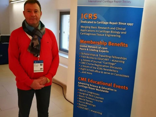 Среща фокус на ICRS (International Cartilage Regeneration & Joint Preservation Society), 21-22 Ноември 2019, Виена, Австрия
